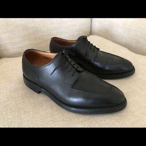 John Lobb Derby Black Leather Oxford Chambord 8.5